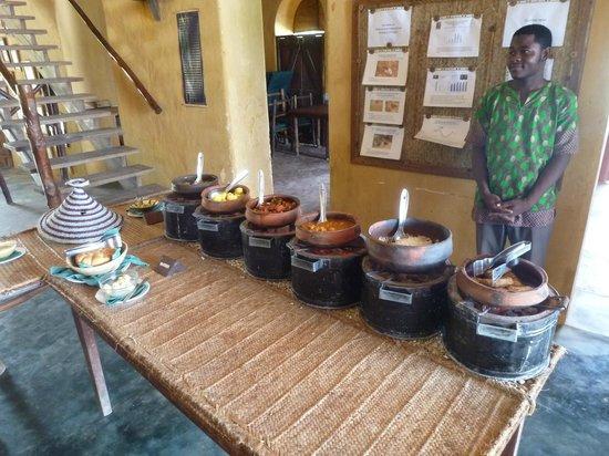 Chumbe Island Coral Park: buffet
