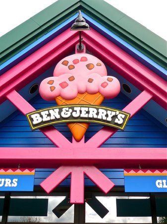 Ben & Jerry's :                   Entrance