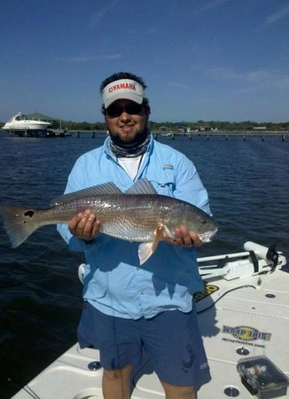 Fields Fishing Charters: A very nice Spring Redfish!