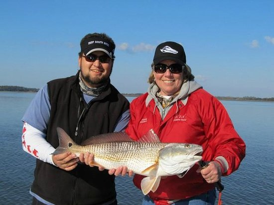 Fields Fishing Charters: You can't beat winter fishing in the lowcountry of SC!