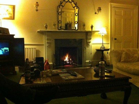 Bansha Castle:                   Living room