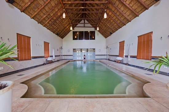 Pretoria, South Africa: The heated indoor swimming pool