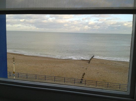 Waterside Hotel :                   View from our window