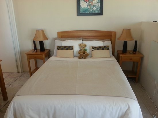 Dolphins View Guest House :                   Bed in Apartment 1