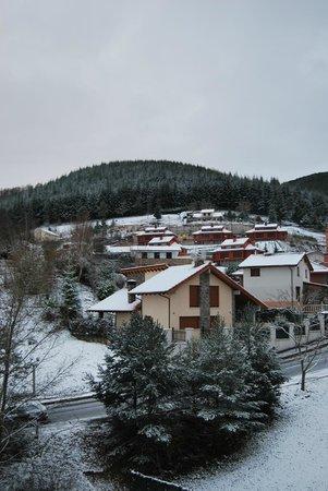 Real Valle Ezcaray : Vista desde la cocina