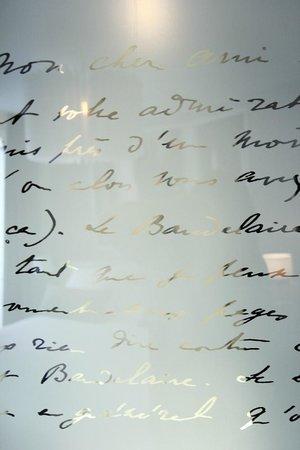 Best Western Premier Le Swann: Texte de Marcel Proust