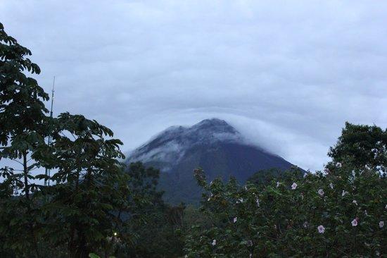 Volcano Lodge & Springs: Asi se ve desde la habitacion