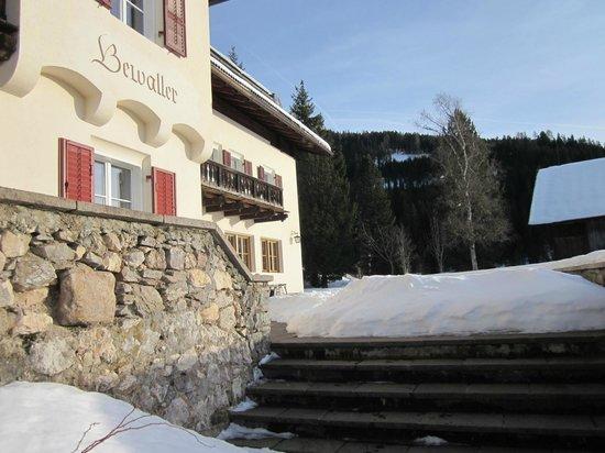 Hotel Bewallerhof:                   Scalinata d'ingresso, Bewallerhof