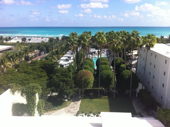 Delano South Beach Hotel: Room with a view