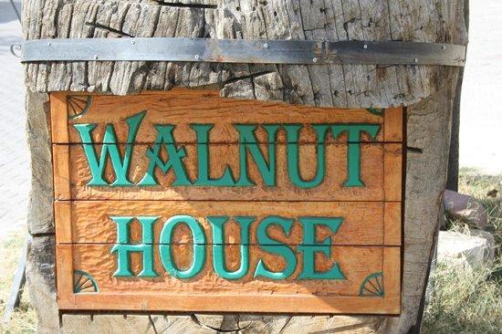Walnut House:                   een leuk en eenvoudig familie hotelletje