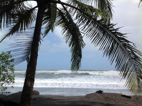 Mawamba Lodge:                                                       Vue sur les Caraïbes