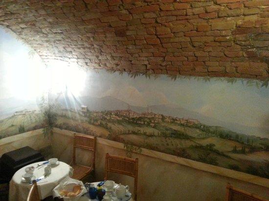 Hotel Antica Torre: Saletta colazione