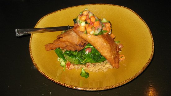 Tanque Verde Ranch:                   Beautiful presentation of cuisine