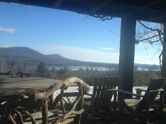 Ashokan Dreams Bed and Breakfast:                   Beautiful view