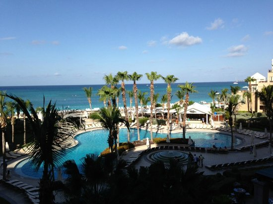 The Ritz-Carlton, Grand Cayman:                   View from our room.