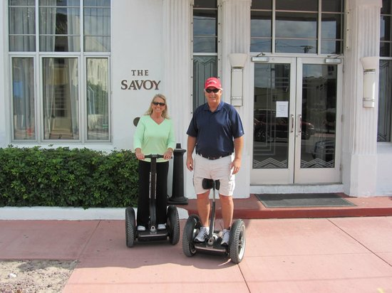 The Savoy Hotel:                   Our Segway Tour took us by our Hotel