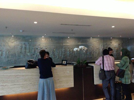โรงแรมซานติก้า พรีเมียร์ จาการ์ตา:                   resepsionis