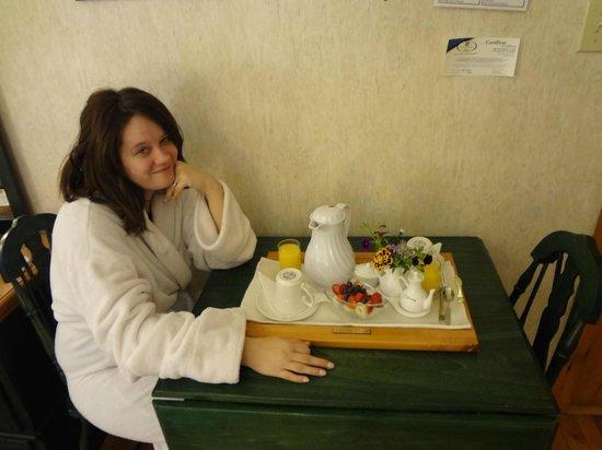 Le Cachet B&B:                   Tea