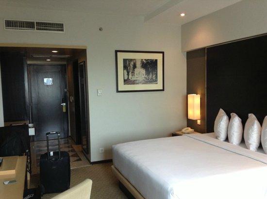 Hotel Santika Premiere Slipi:                   kamar tidur