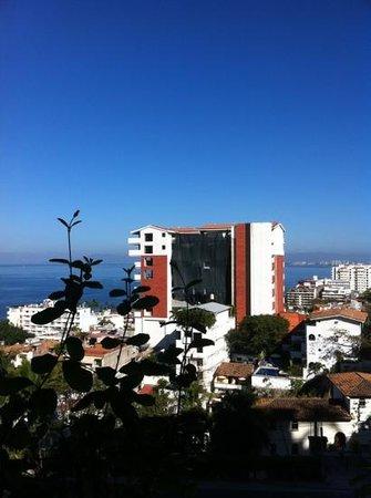 Casa Anita y Corona del Mar:                                     vue depuis le balcon de la chambre