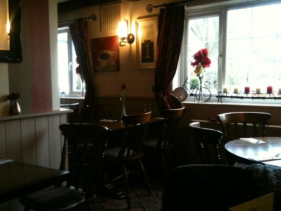 The Sutton arms:                   Dining area
