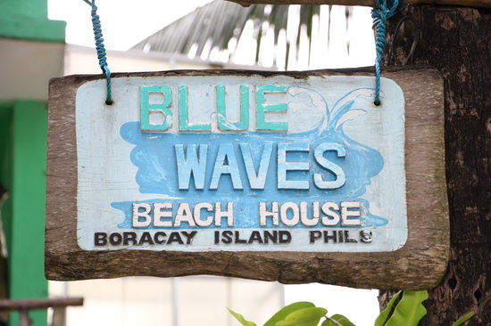 Blue Waves Beach House:                   The Name