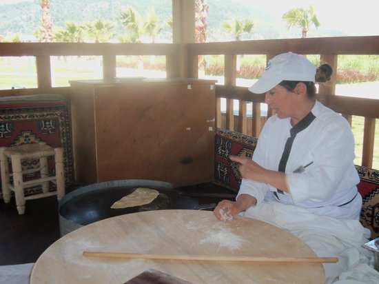 Hilton Dalaman Sarigerme Resort & Spa:                                     Yummy pancakes by the beach
