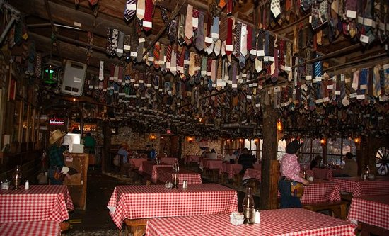 Superb Pinnacle Peak Patio Steakhouse: Ties Ties Ties