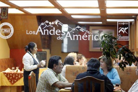 Los Andes De America Hotel: rESTAURANT BEST WESTERN