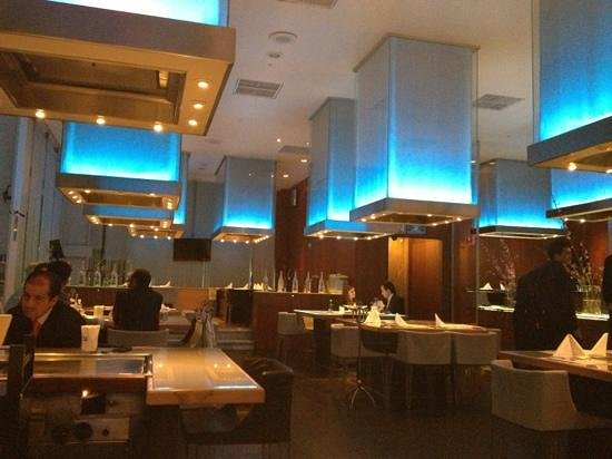 Fiesta Americana Santa Fe Hotel: Shu Restaurant - Best teppanyaki in the City!