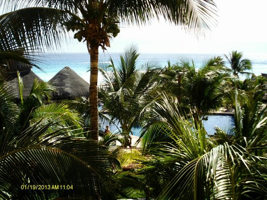 Fiesta Americana Condesa Cancun All Inclusive:                   view from 2nd floor main tower room