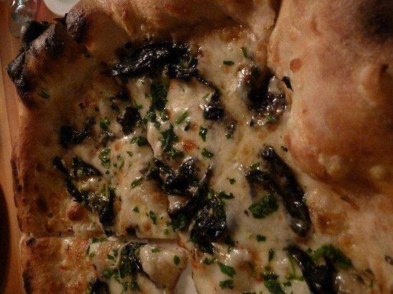 Lovely's Fifty Fifty: pecorino pizza