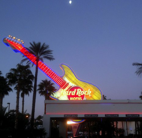 Hard Rock Hotel and Casino: Hard Rock Sign