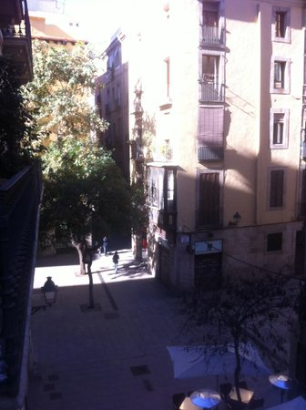 Casa Marcelo Barcelona:                   View from El Born from the balcony