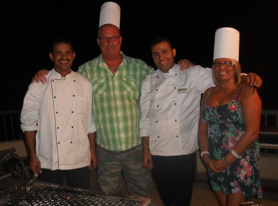 Sol Taba Red Sea: chefs on BBQ night