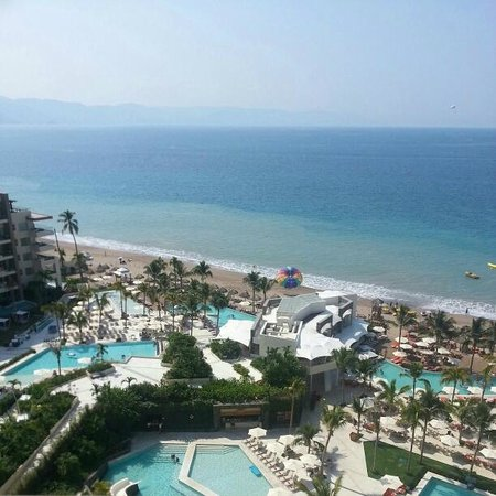 Now Amber Puerto Vallarta:                   View from room 2162