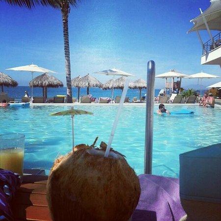 Now Amber Puerto Vallarta:                   Yummy Coconut drinks