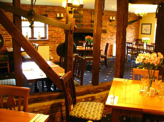 The Plough Inn: Plough's restaurant area, seating  up to 56 guests