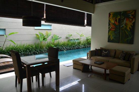 Pradha Villas:                   واسع ونظيف