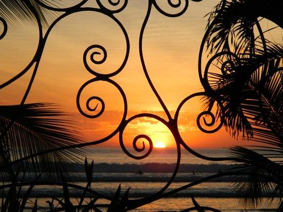 Hotel Catalina:                   Sonnenuntergang