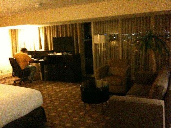 Hilton Anaheim:                   Guest room