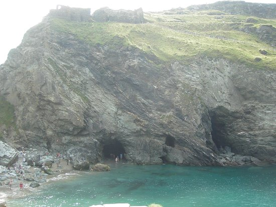 Driver Guide Tours: King Arthur's possible birthplace, Tintagel, Cornwall