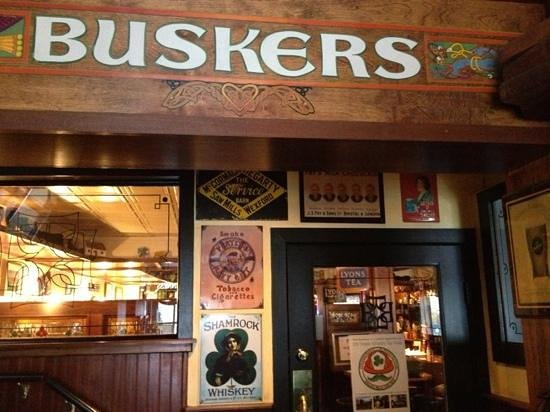 Busker's:                                     Welcome in!