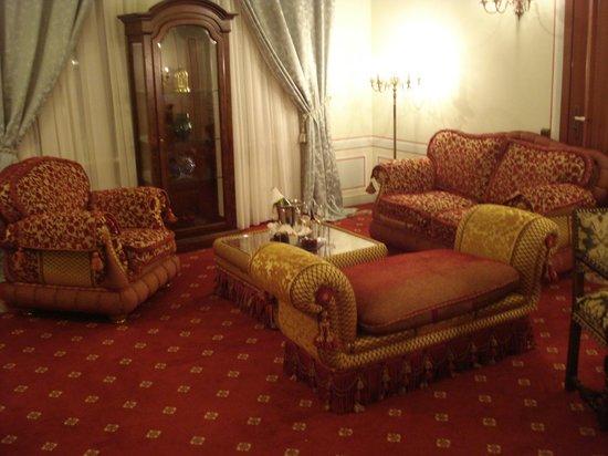 Opera Hotel:                   lounge wonderful