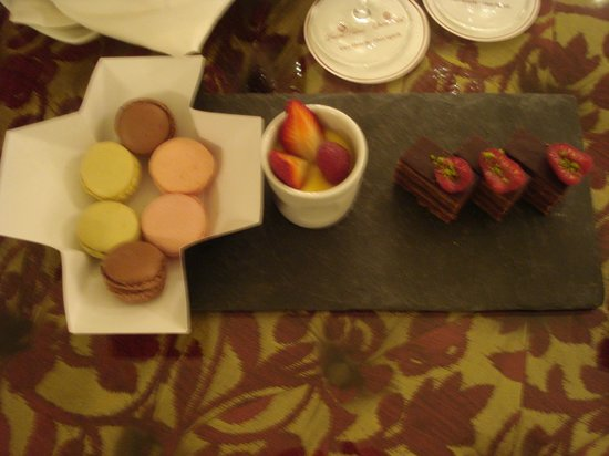 Opera Hotel:                   delicacies from the chef delicious