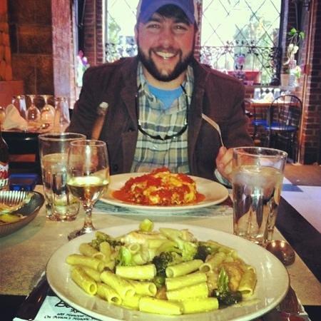 Bella Vista:                                     Lunch--lasagna and chicken/broccoli ziti. So good!!