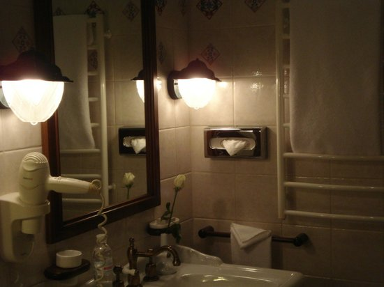 Opera Hotel:                   bathroom well equiped