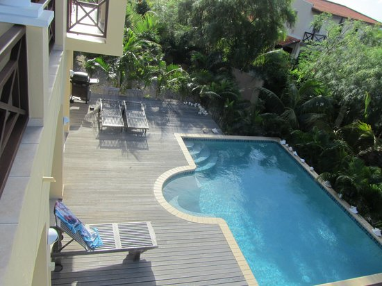 very private pool