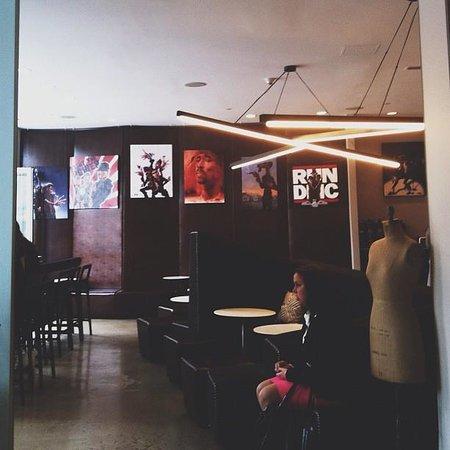 NU Hotel:                   The lobby
