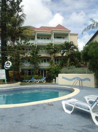 Coral Mist Beach Hotel:                   piscina agradável.